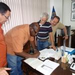 Contrato assinado