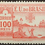 Selo_Brasil_400_anos_1500_1900_100_reis